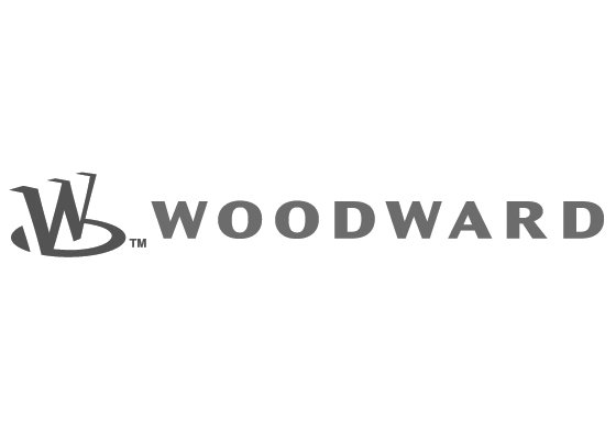 woodward logo grey