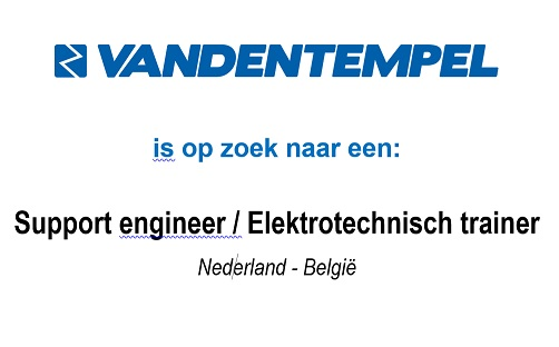 Vacature: Support engineer / Elektrotechnisch trainer