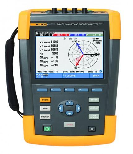 Fluke 435 II Power Quality Analyzer Verhuur