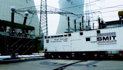 Mobiel testsysteem voor vermogentransformatoren