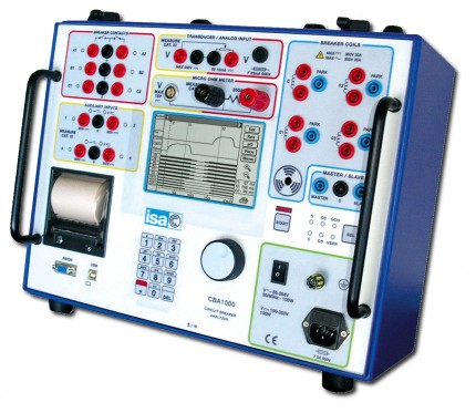 Circuit breaker tester CBA1000