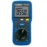 MX 407 Isolatieweerstandmeter en multimeter