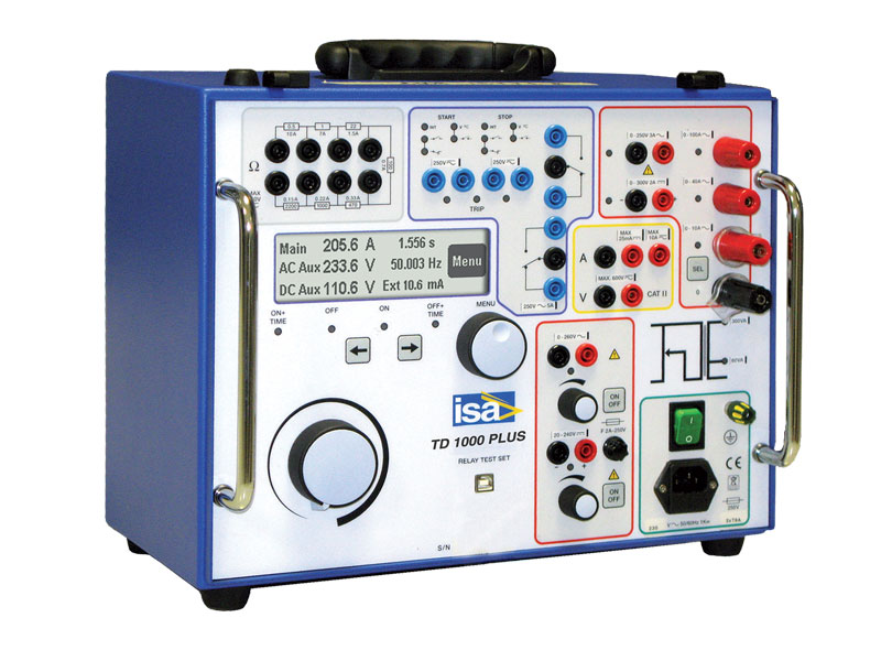 1-fase testsystemen, stroomkoffers